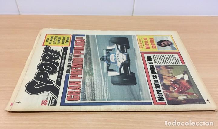 Coleccionismo deportivo: DIARIO DEPORTIVO SPORT Nº 202 - 1 JUNIO 1980 - F1 GP JARAMA PIRATA - MARADONA SE JUEGA EL TIPO - Foto 2 - 242224675