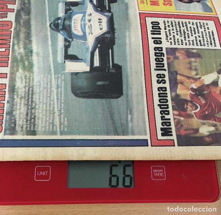Coleccionismo deportivo: DIARIO DEPORTIVO SPORT Nº 202 - 1 JUNIO 1980 - F1 GP JARAMA PIRATA - MARADONA SE JUEGA EL TIPO - Foto 5 - 242224675