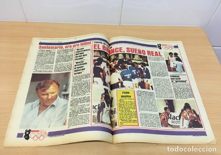 Coleccionismo deportivo: DIARIO DEPORTIVO SPORT Nº 254 - 28 JULIO 1980 - QUINI Y KRANKL - NIETO CASI CAMPEÓN - Foto 3 - 242224755
