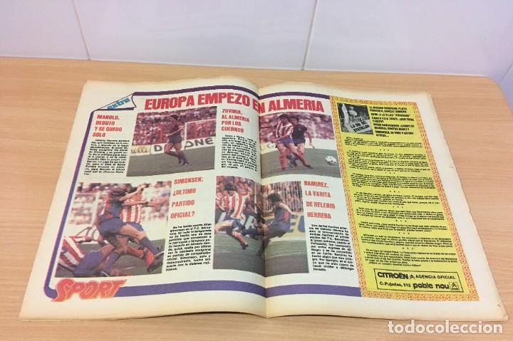 Coleccionismo deportivo: DIARIO DEPORTIVO SPORT Nº 189 - 19 MAYO 1980 - REAL MADRID CAMPEÓN LIGA - HAY QUE TIRAR DE LA MANTA - Foto 3 - 242224885