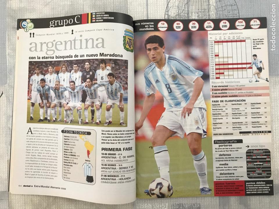 Coleccionismo deportivo: Fútbol don balón extra 83 - Mundial Alemania 2006 - World Cup Germany - panini este as marca - Foto 2 - 242329380