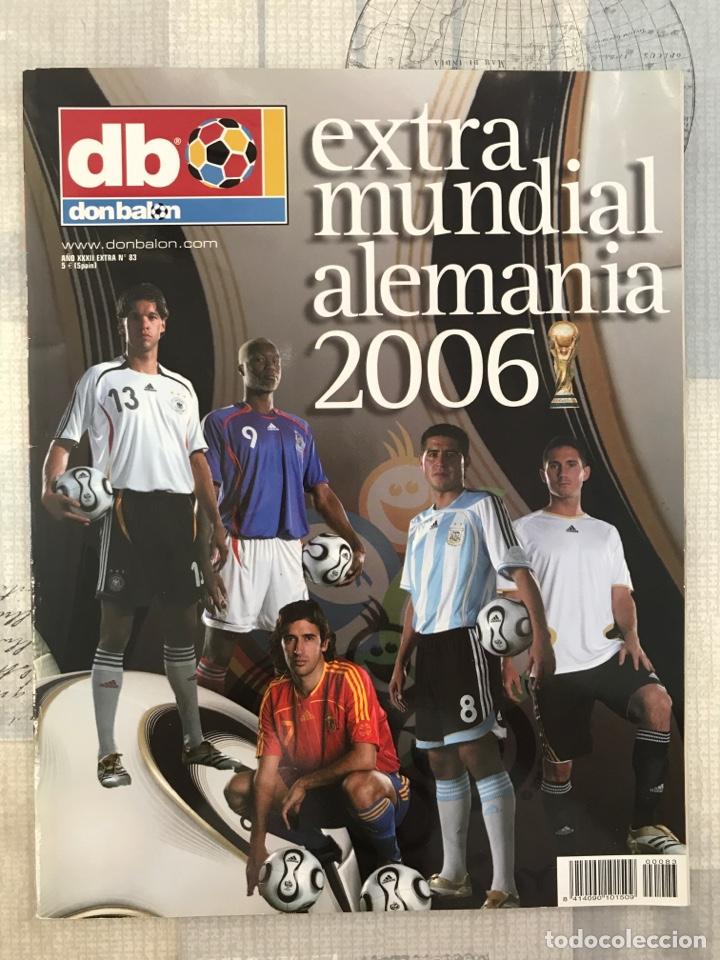 FÚTBOL DON BALÓN EXTRA 83 - MUNDIAL ALEMANIA 2006 - WORLD CUP GERMANY - PANINI ESTE AS MARCA (Coleccionismo Deportivo - Revistas y Periódicos - Don Balón)