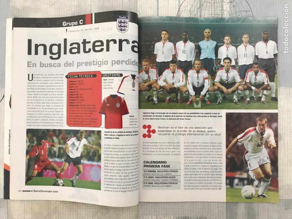 Coleccionismo deportivo: Fútbol don balón extra 72 - Euro Portugal 2004 - Eurocup 04 Portugal - panini as marca - Foto 2 - 242330170
