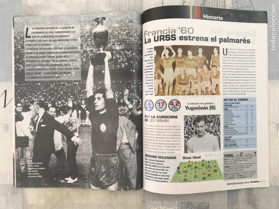 Coleccionismo deportivo: Fútbol don balón extra 72 - Euro Portugal 2004 - Eurocup 04 Portugal - panini as marca - Foto 5 - 242330170