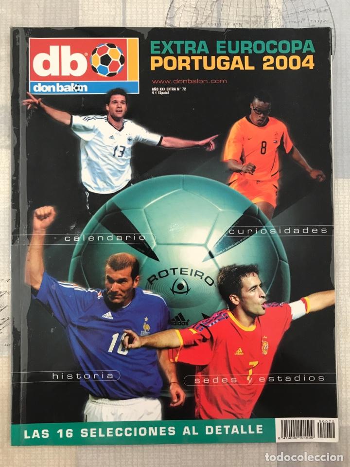 FÚTBOL DON BALÓN EXTRA 72 - EURO PORTUGAL 2004 - EUROCUP 04 PORTUGAL - PANINI AS MARCA (Coleccionismo Deportivo - Revistas y Periódicos - Don Balón)