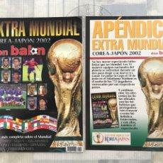 Coleccionismo deportivo: FÚTBOL DON BALÓN EXTRA 58 - MUNDIAL KOREA JAPÓN 2002 - WORLD CUP 2002 - INCLUYE APÉNDICE. Lote 242331190