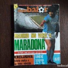 Collectionnisme sportif: REVISTA DON BALÓN NÚMERO 613 AÑO 1987. Lote 242407255