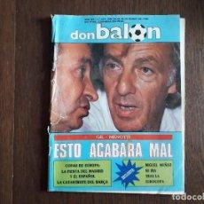 Collectionnisme sportif: REVISTA DON BALÓN NÚMERO 649 AÑO 1988. Lote 242407840
