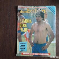 Collectionnisme sportif: REVISTA DON BALÓN NÚMERO 617 AÑO 1987. Lote 242407940