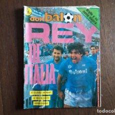 Collectionnisme sportif: REVISTA DON BALÓN NÚMERO 605 AÑO 1987. Lote 242408180