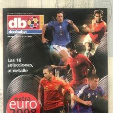 Coleccionismo deportivo: FÚTBOL DON BALÓN EXTRA 101 EUROCOPA 2008 SUIZA Y POLONIA - EUROCUP 08 - SWITZERLAND AND POLAND. Lote 242835280
