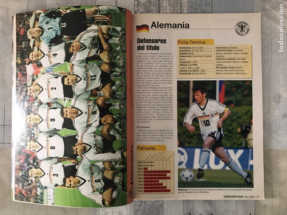 Coleccionismo deportivo: Fútbol don balón extra 49 - Eurocopa 2000 Holanda Bélgica - Eurocup 2000 - Belgium Netherlands - Foto 2 - 242837255
