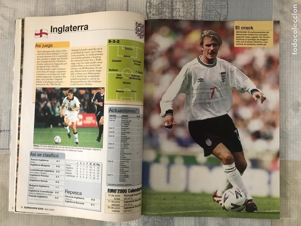 Coleccionismo deportivo: Fútbol don balón extra 49 - Eurocopa 2000 Holanda Bélgica - Eurocup 2000 - Belgium Netherlands - Foto 4 - 242837255