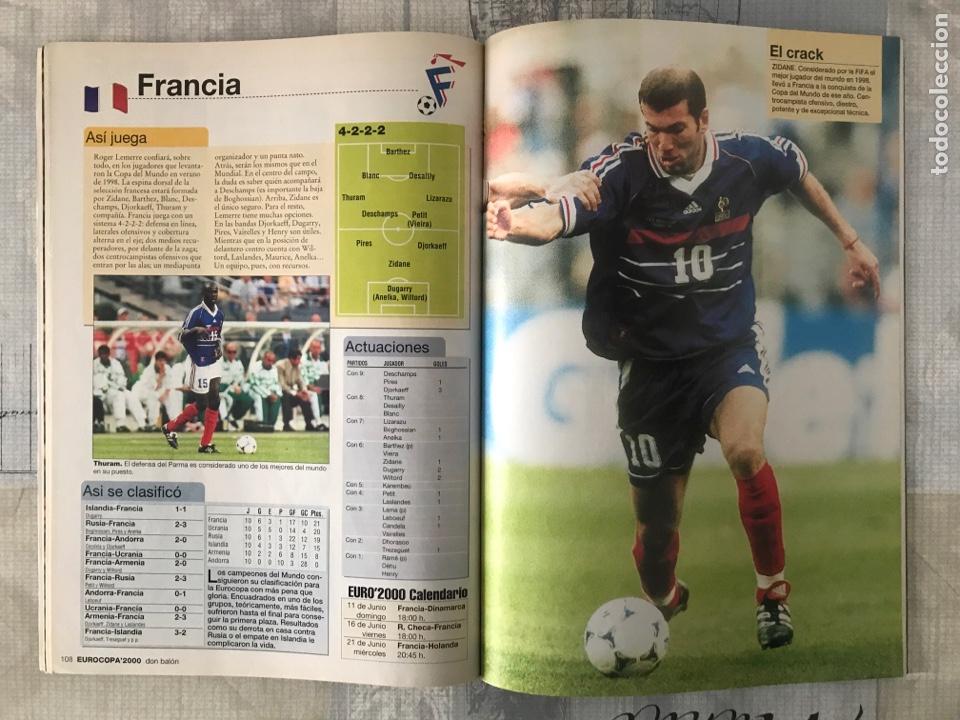 Coleccionismo deportivo: Fútbol don balón extra 49 - Eurocopa 2000 Holanda Bélgica - Eurocup 2000 - Belgium Netherlands - Foto 5 - 242837255