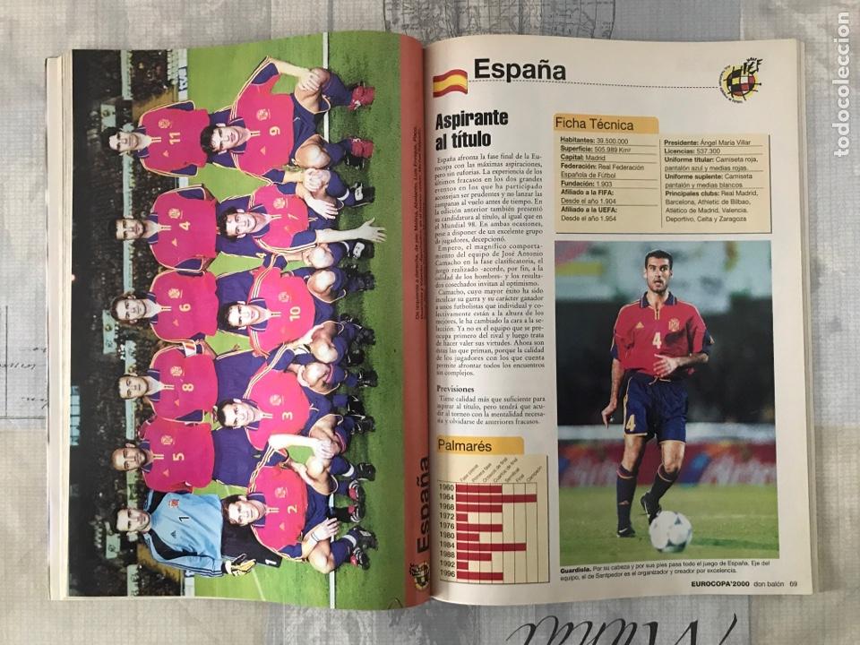 Coleccionismo deportivo: Fútbol don balón extra 49 - Eurocopa 2000 Holanda Bélgica - Eurocup 2000 - Belgium Netherlands - Foto 6 - 242837255