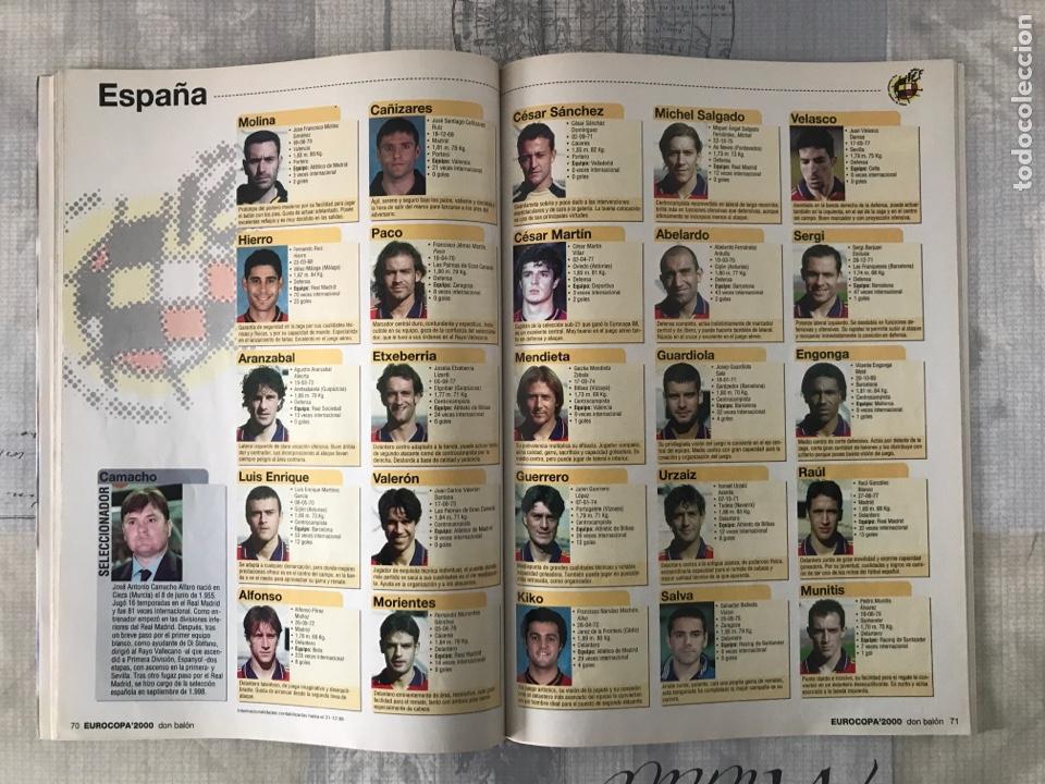 Coleccionismo deportivo: Fútbol don balón extra 49 - Eurocopa 2000 Holanda Bélgica - Eurocup 2000 - Belgium Netherlands - Foto 7 - 242837255