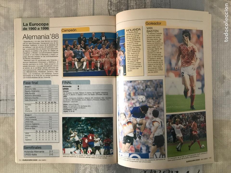 Coleccionismo deportivo: Fútbol don balón extra 49 - Eurocopa 2000 Holanda Bélgica - Eurocup 2000 - Belgium Netherlands - Foto 8 - 242837255