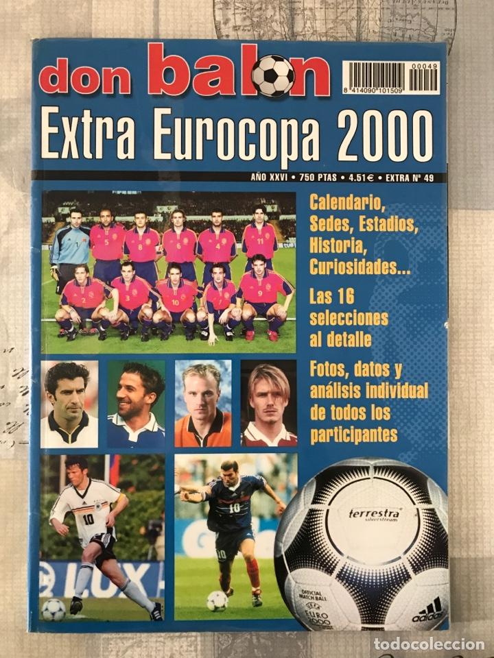 FÚTBOL DON BALÓN EXTRA 49 - EUROCOPA 2000 HOLANDA BÉLGICA - EUROCUP 2000 - BELGIUM NETHERLANDS (Coleccionismo Deportivo - Revistas y Periódicos - Don Balón)