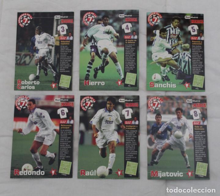 Coleccionismo deportivo: DIARIO MARCA COLECCIÓN LOS HOMBRES DE LA SEPTIMA CHAMPIONS LEAGUE REAL MADRID.22 DE 27 - Foto 3 - 242845120