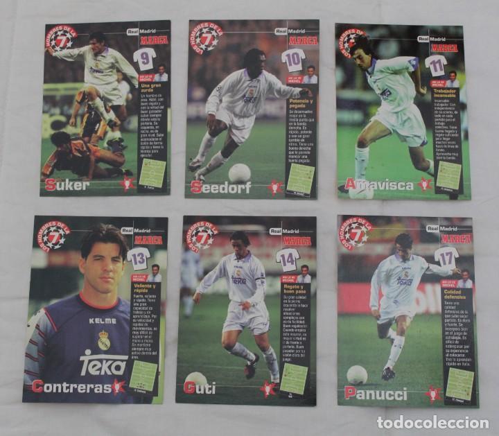 Coleccionismo deportivo: DIARIO MARCA COLECCIÓN LOS HOMBRES DE LA SEPTIMA CHAMPIONS LEAGUE REAL MADRID.22 DE 27 - Foto 5 - 242845120
