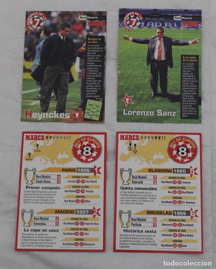 Coleccionismo deportivo: DIARIO MARCA COLECCIÓN LOS HOMBRES DE LA SEPTIMA CHAMPIONS LEAGUE REAL MADRID.22 DE 27 - Foto 9 - 242845120