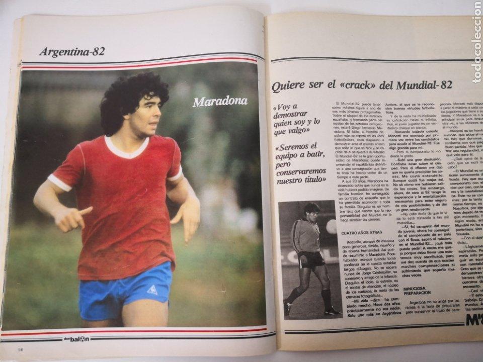 Coleccionismo deportivo: MARADONA PORTADA Y ENTREVISTA. DON BALÓN MUNDIAL ESPAÑA 1982. PAOLO ROSSI - Foto 4 - 242937235