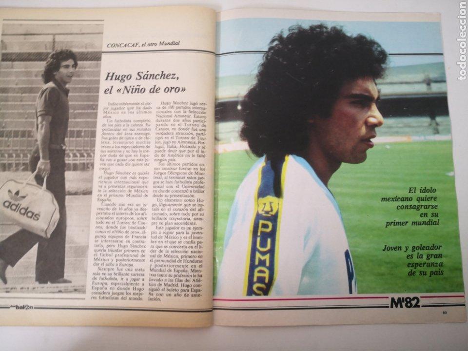 Coleccionismo deportivo: MARADONA PORTADA Y ENTREVISTA. DON BALÓN MUNDIAL ESPAÑA 1982. PAOLO ROSSI - Foto 6 - 242937235
