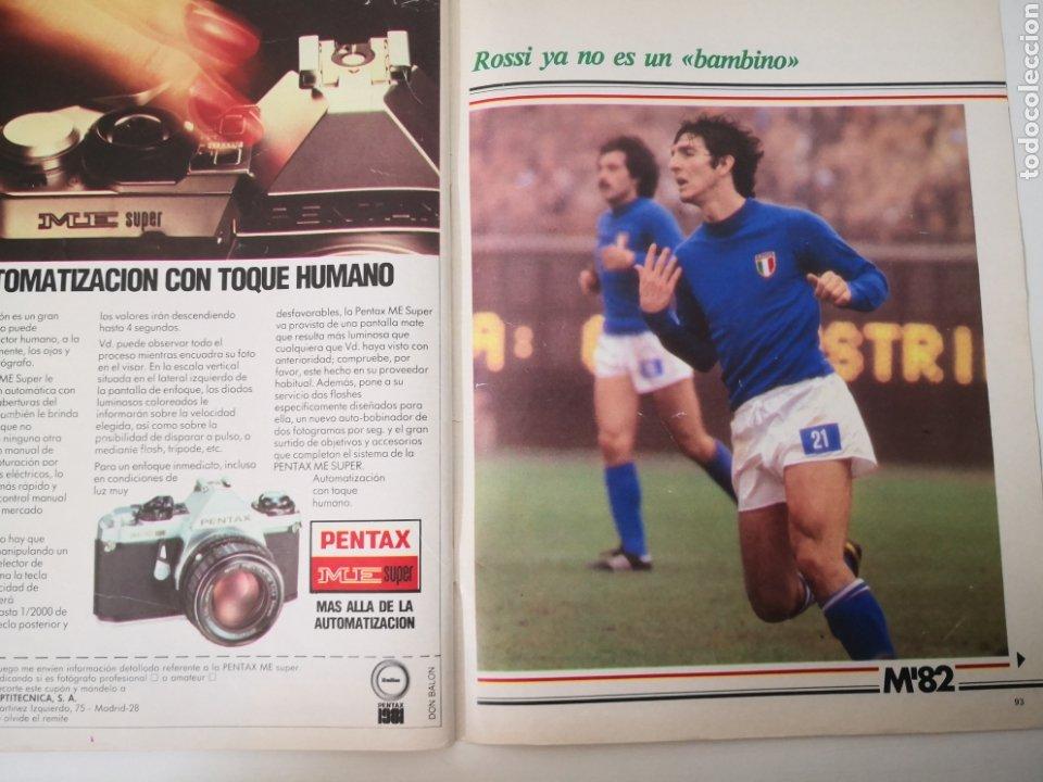 Coleccionismo deportivo: MARADONA PORTADA Y ENTREVISTA. DON BALÓN MUNDIAL ESPAÑA 1982. PAOLO ROSSI - Foto 7 - 242937235