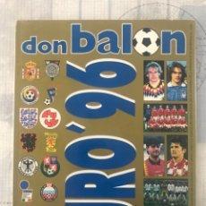 Coleccionismo deportivo: FÚTBOL DON BALÓN EXTRA 32 - EUROCOPA 96 INGLATERRA - EUROCUP ENGLAND 1996 - PANINI AS MARCA. Lote 242949960