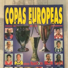 Coleccionismo deportivo: FÚTBOL DON BALÓN EXTRA 35 - COPAS EUROPEAS96/97 CHAMPIONS LEAGUE - UEFA CUP - PANINI EURO MARCA AS. Lote 242978410