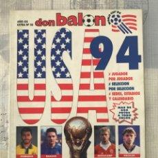 Coleccionismo deportivo: FÚTBOL DON BALÓN EXTRA 25 - MUNDIAL USA 94 - WORLD CUP UNITED STATES 1994 - PANINI FOOTBALL ALBUM. Lote 242979390