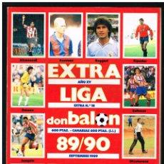 Colecionismo desportivo: REVISTA DON BALON EXTRA Nº 18 LIGA 89/90 - SEPTIEMBRE 1989. Lote 243056895