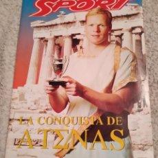 Coleccionismo deportivo: SPORT. ESPECIAL LA CONQUISTA DE ATENAS. 1994. CRUYFF, KOEMAN. BUEN ESTADO.. Lote 243176455