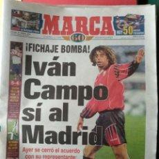 Coleccionismo deportivo: DIARIO MARCA 22/03/1998 VER PORTADA. Lote 243421705