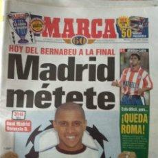 Coleccionismo deportivo: DIARIO MARCA 01/04/1998 VER PORTADA. Lote 243422280