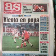Coleccionismo deportivo: DIARIO AS 26/09/1993 VER PORTADA. Lote 243428760