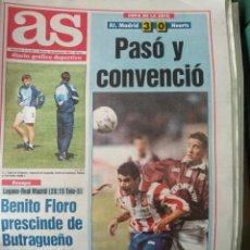 Coleccionismo deportivo: DIARIO AS 29/09/1993 VER PORTADA. Lote 243429070