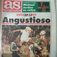 Coleccionismo deportivo: DIARIO AS 07/10/1993 VER PORTADA. Lote 243429725