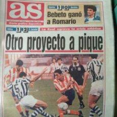 Coleccionismo deportivo: DIARIO AS 17/10/1993 VER PORTADA. Lote 243430270