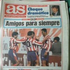 Coleccionismo deportivo: DIARIO AS 11/11/1993 VER PORTADA. Lote 243431145
