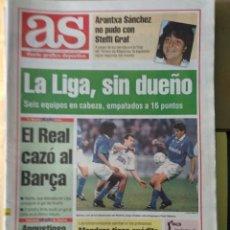 Coleccionismo deportivo: DIARIO AS 22/11/1993 VER PORTADA. Lote 243431315