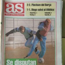 Coleccionismo deportivo: DIARIO AS 05/12/1993 VER PORTADA. Lote 243431835