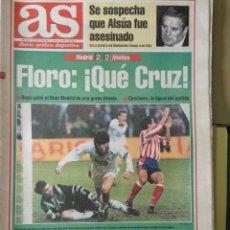 Coleccionismo deportivo: DIARIO AS 05/01/1994 VER PORTADA. Lote 243432810
