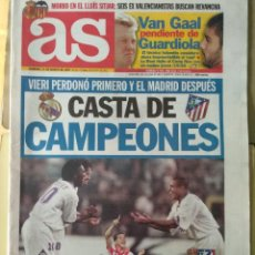 Coleccionismo deportivo: DIARIO AS 31/08/1997 VER PORTADA. Lote 243434235