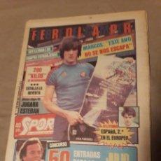 Coleccionismo deportivo: DIARIO SPORT 22 DE AGOSTO 1983 - GAMPER 83 - WILANDER APALEO A LENDL-CONCURSO JULIO IGLESIAS GALA. Lote 243472290