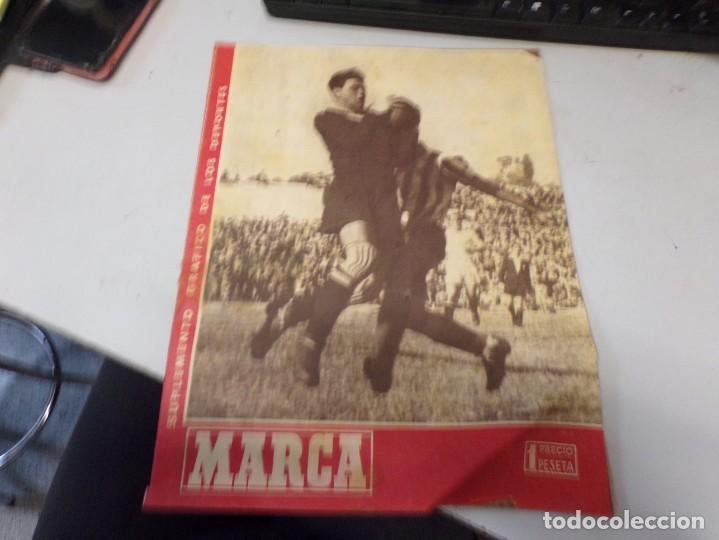 SUPLEMENTO GRAFICO DE LOS DEPORTES MARCA , 26 MARZO 1946 NUM 173 FUTBOL (Coleccionismo Deportivo - Revistas y Periódicos - Marca)