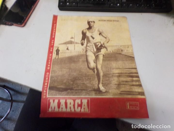 SUPLEMENTO GRAFICO DE LOS DEPORTES MARCA , 9 ABRIL 1946 NUM 175 FUTBOL (Coleccionismo Deportivo - Revistas y Periódicos - Marca)