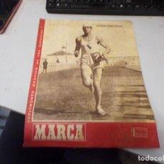 Colecionismo desportivo: SUPLEMENTO GRAFICO DE LOS DEPORTES MARCA , 9 ABRIL 1946 NUM 175 FUTBOL. Lote 243560590