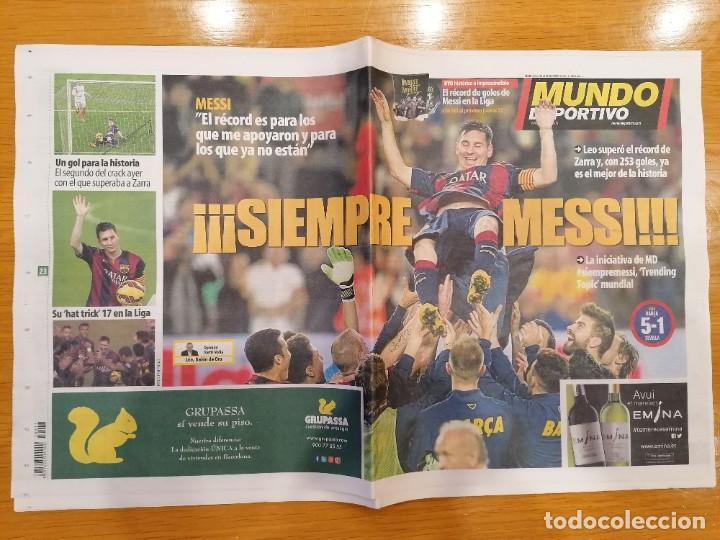 Coleccionismo deportivo: Mundo Deportivo [23 de noviembre de 2014][Número 12.649][Messi, máximo goleador de la Liga] - Foto 3 - 243627400