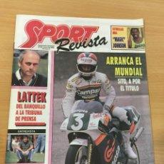 Coleccionismo deportivo: REVISTA DIARIO SPORT Nº 7 - 20 MARZO 1988 - MAGIC JOHNSON, LATTEK, SITO PONS, SEVE BALLESTEROS. Lote 243677690